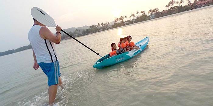 {蘇梅島六天五夜自由行} Day 4~6 part 2 陽光, 沙灘, 玩水, 彩虹趴, 划船