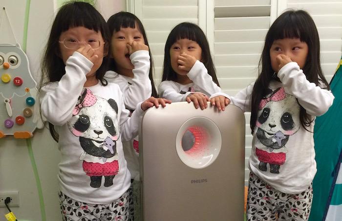 過敏家庭必備{飛利浦PM2.5頂級進化空氣清淨機 AC4374}讓好空氣聞得到也看得到!