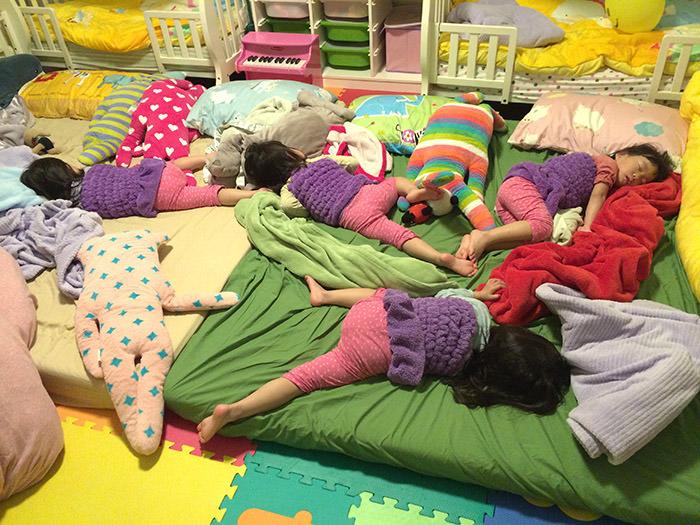 小孩睡飽情緒也會比較好