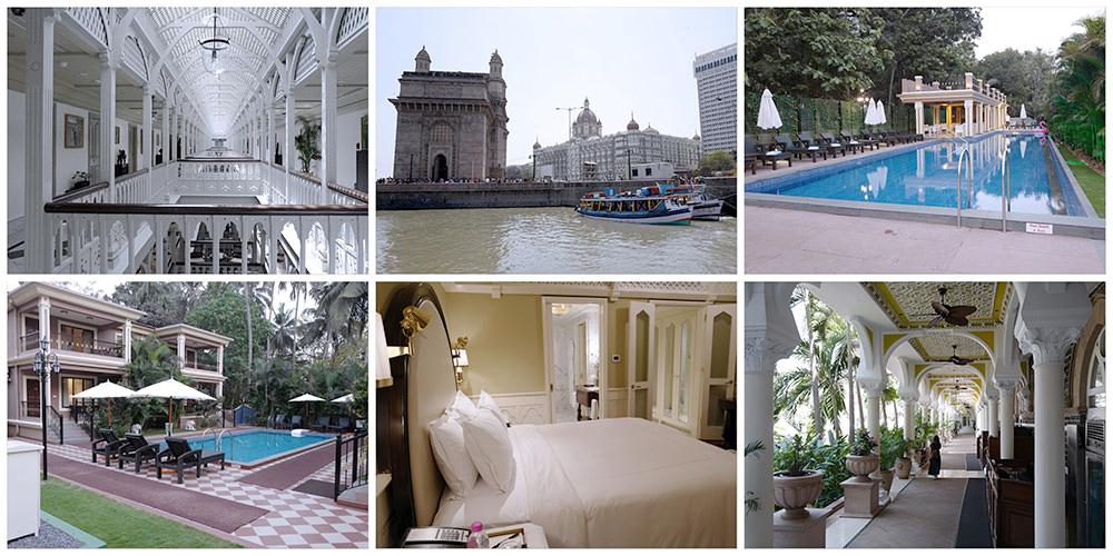 {印度飯店}{內有Booking.com專屬回饋}泰姬瑪哈酒店Taj Mahal Palace & Tower/貝殼渡假酒店 Seashell villa